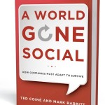 A World Gone Social: Image is the book cover.