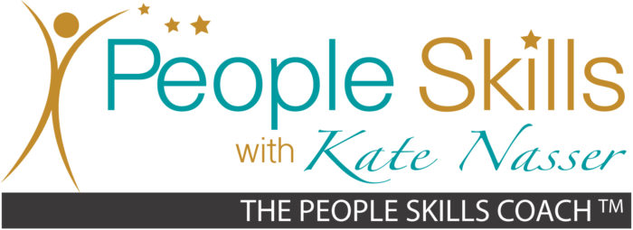 Positive People Skills Choices: Image is people skills chat logo.