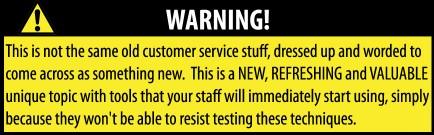 Customer Service USA - DVD Warning Label
