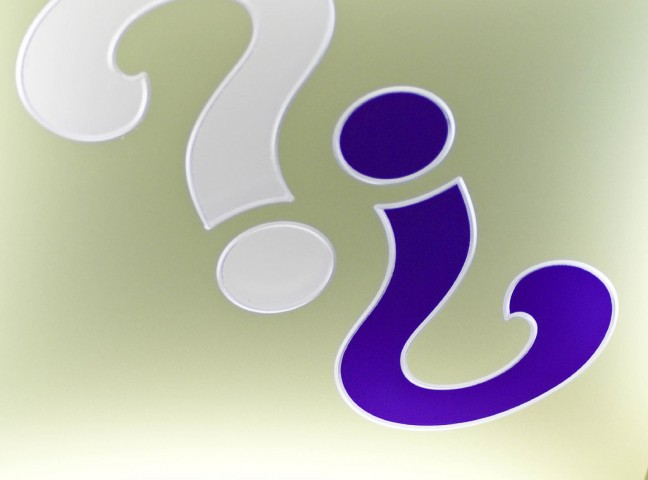 People Skills Image: Image is picture of question marks.