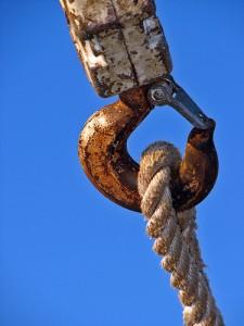 Customer Service Mindset: Image is big chain link.