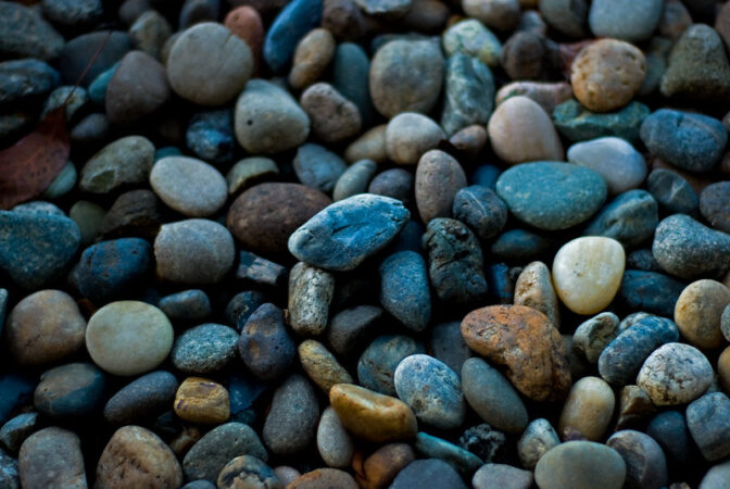 Communicating Differently: Image is Different Colored Rocks