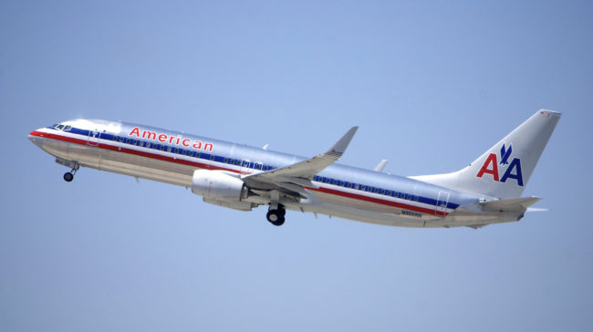 Customer Experience Repeat Daily: Image is American Airlines jet.