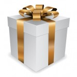 Customer Experience Vibe: Image is a Gift Box With Gold Bow