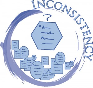 Leadership: Change vs Inconsistency Image is an Incomplete Circle