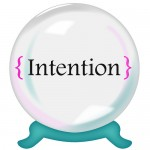 People Skills: Image is the crystal ball w/ word intention.