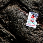 True Customer Experience Leadership: Image is an empty packet of ketchup.