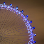 Leadership Inspiration: Image is a ferris wheel lit up.