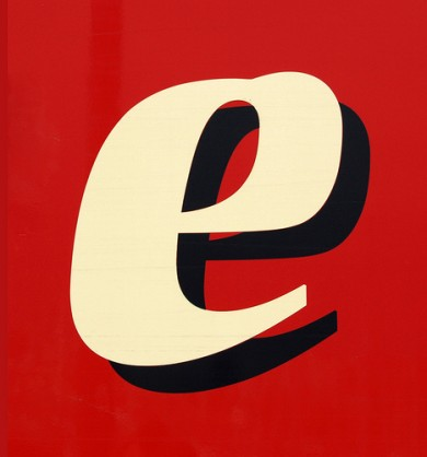 Customers Speak: Image is the letter E.