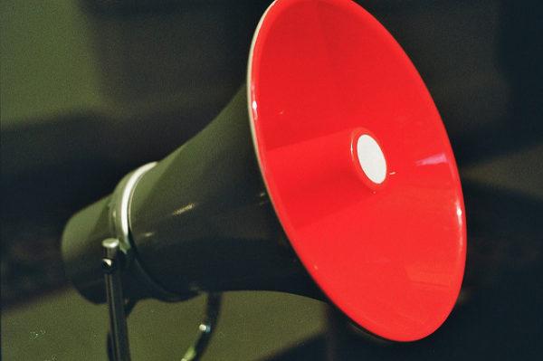 Speaking Effectiveness: Image is a megaphone.