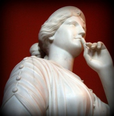 Leadership People Skills: Image is Statue of Greek Woman Goddess