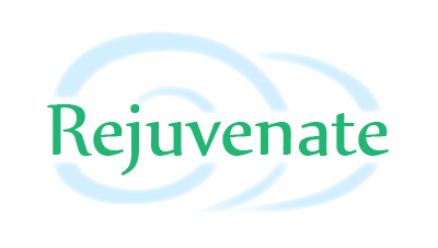 Conflict Resolution: Image is the word Rejuvenate.