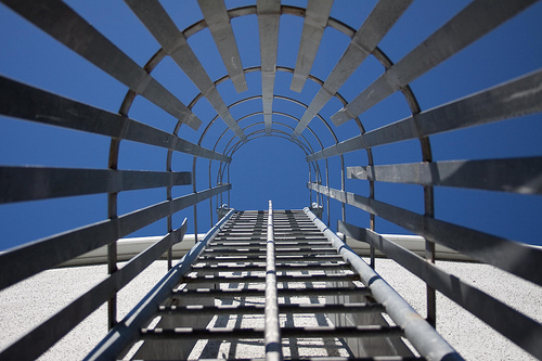 Leadership Dilemma: Image is a skyscraper type structure.