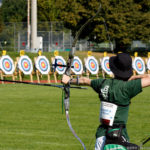 Tangible People Skills: Image is archery and bullseye.