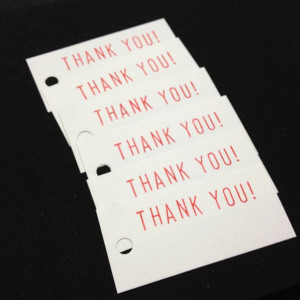 """Irresistible Customer Experience: Image is """"Thank You Cards"""""""
