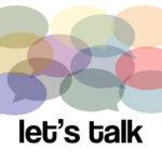 Valuable Conversation: Image is speech bubbles.