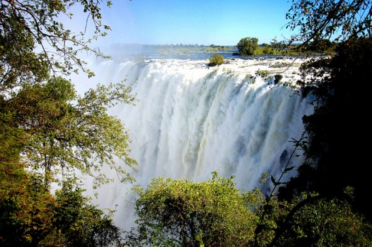 Humility People Skills: Image of Victoria Falls