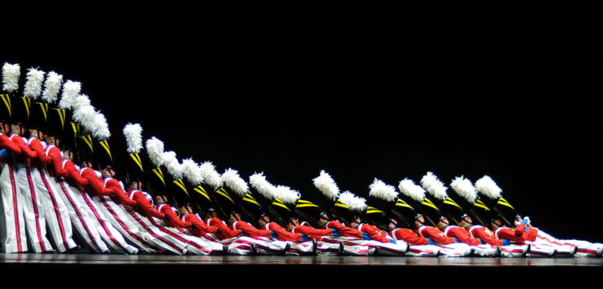Welcome New Team Members. Image is picture of Rockettes as wooden soldiers.