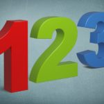 Heartfelt Apology: Image is the numbers 1 2 3