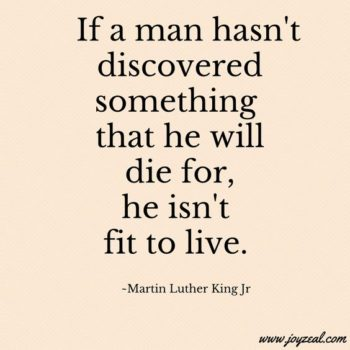 Inspirational voice of Dr. Martin Luther King Jr.