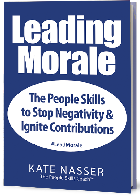 Leading Morale: Image is the book cover.