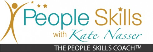 Developing People Smarts: Image is the people skills logo.