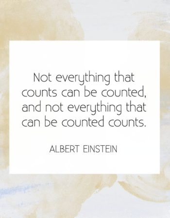 NotEverythingThatCanBeCountedMatters-Einstein