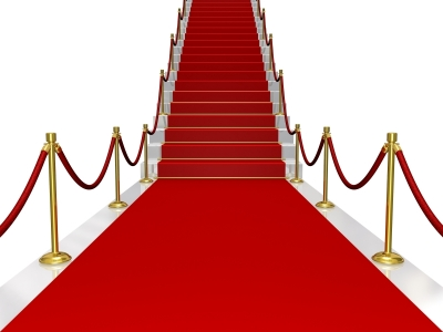 Employee Engagement: Image is Red Carpet Roped Off