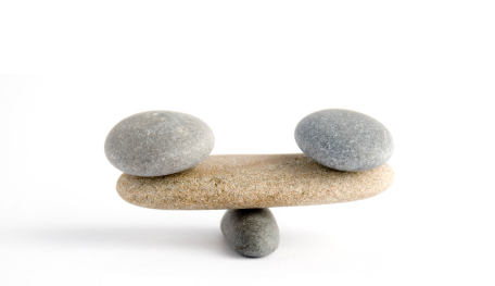 Harmony: Image is balanced rocks.