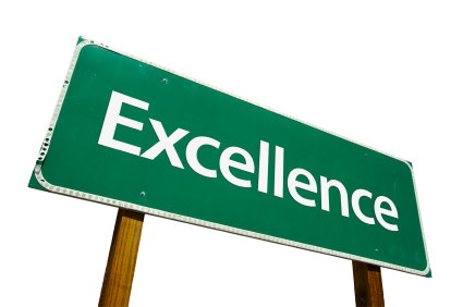 Excellence: Image is Good Better Best Excellence