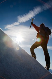 Leadership Success Think Balance Beam Not Mountain Top