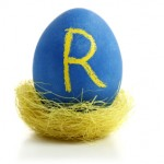 Super Customer Service People Skills: Image is Blue Egg w/ Letter R