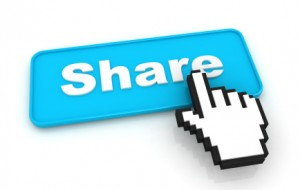 Teamwork #Peopleskills: Image is the word SHARE