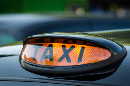 Customer Service Teams: Image is a Taxi as in the story.